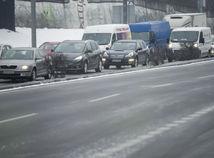 SR Bratislava Počasie Doprava poladovica