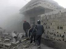 Sýria Ghúta Východná prímerie humanitárne porušenie boje