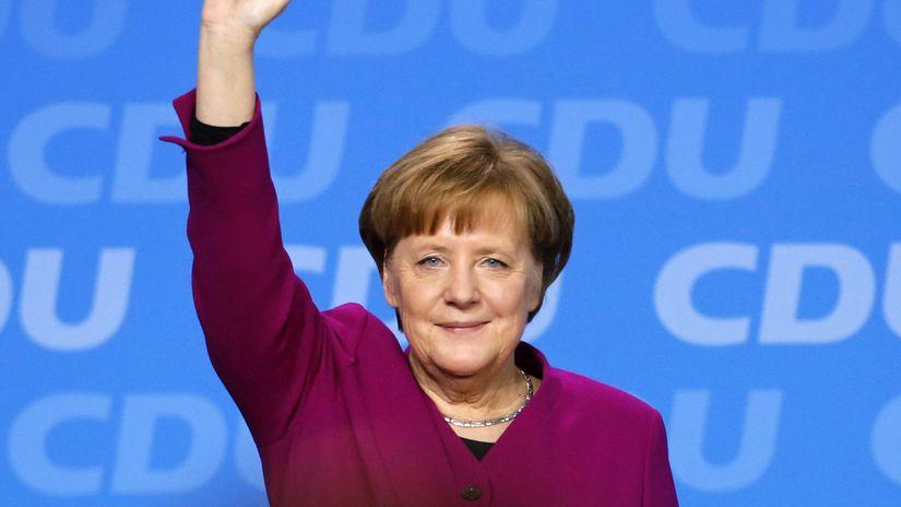 Angela Merkelová, Nemecko, kancelárka
