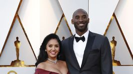Bývalý basketbalista Kobe Bryant a jeho manželka Vanessa Laine Bryant.