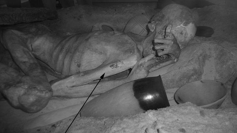 egyptské múmie, tetovanie,