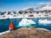 Grónsko, ľadovce, Arktída, zima