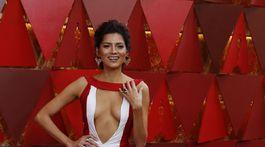 Herečka Blanca Blanco opäť stavila na odhaľujúcu róbu.