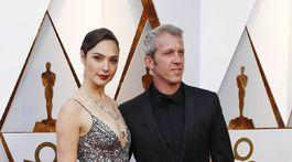 Herečka Gal Gadot a jej manžel Yaron Varsano.