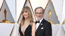 Herečka Kate Capshaw, manželka režiséra Stevena Spielberga.
