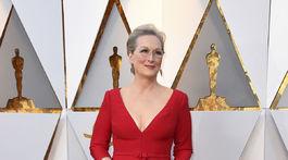 Herečka Meryl Streep.