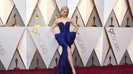 Herečka Nicole Kidman vyzerala očarujúco v kreácii Armani Privé.