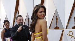 Pozadie mexickej herečky Eizy Gonzalezovej bolo neprehliadnuteľné.