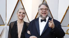 AWARDS-OSCARS/Režisér Guillermo del Toro a jeho dámska spoločnosť.