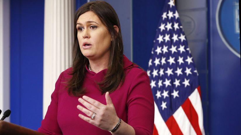 Sarah Sandersová, USA, Florida, škola,Trump,...