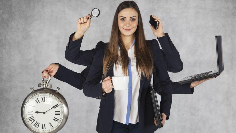 čas, práca, stres, vyčerpanosť, workoholizmus