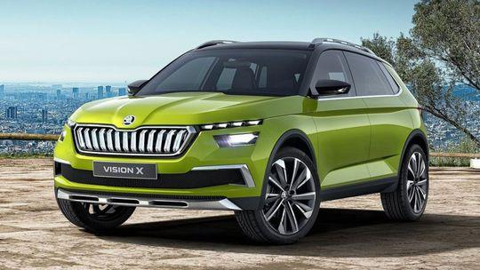 Škoda Vision X: Koncept SUV jazdí na elektrinu aj zemný plyn