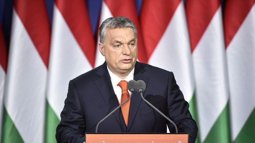 Maďarsko Orbán Prejav Výročný