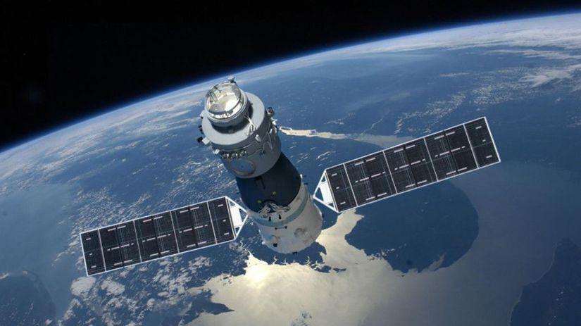 Čínska experimentálna vesmírna stanica Nebeský...