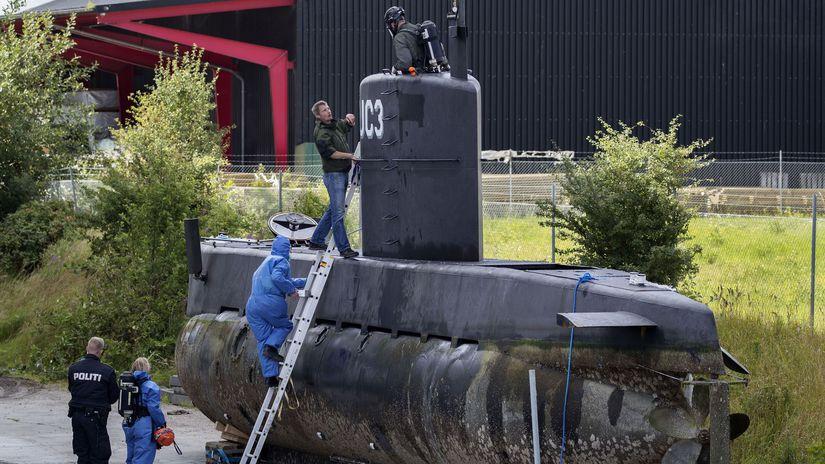 dánsko, kim wallová, ponorka, peter madsen