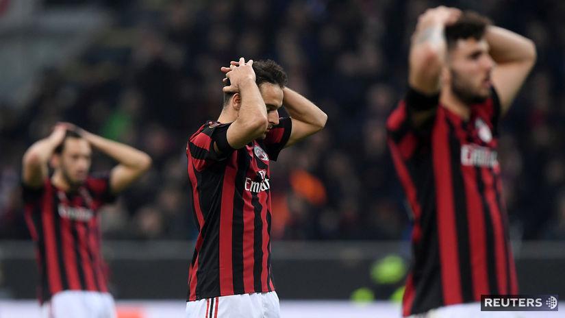 AC Miláno, smútok