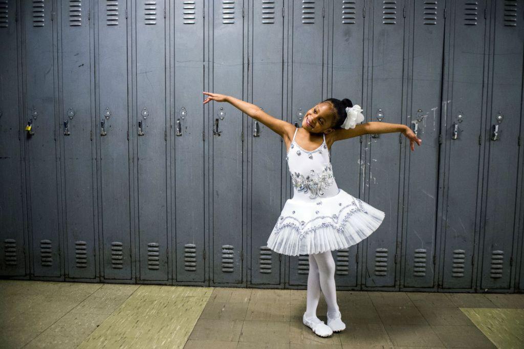 baletka, šaťňa, dievča, dievčatko, Michigan