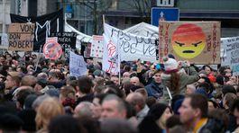 námestie SNP, Pochod Postavme sa za slušné Slovensko