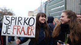 Pochod Postavme sa za slušné Slovensko