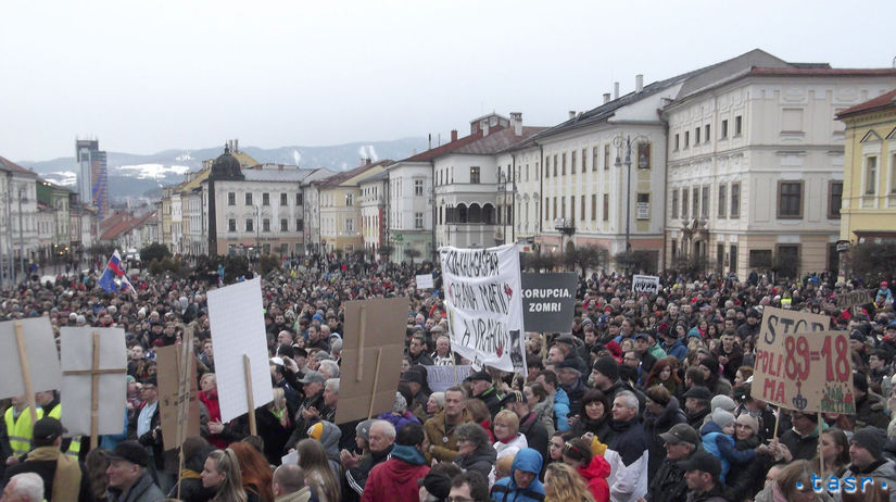 SR Banská Bystrica Postavme sa za slušné Slovensko