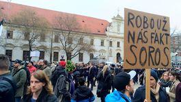transparent pochod Soros