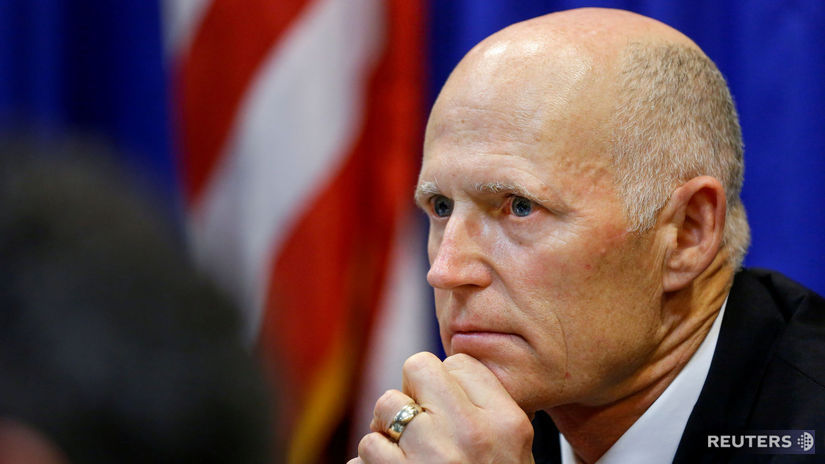 USA, zbrane, Florida, guvernér, Rick Scott