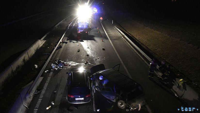 SR D1 Visolaje nehoda mŕtvi zranení