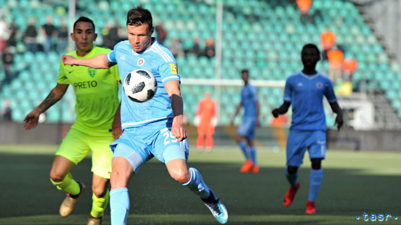 SR Žilina futbal FL 1. kolo o titul Slovan ZAX
