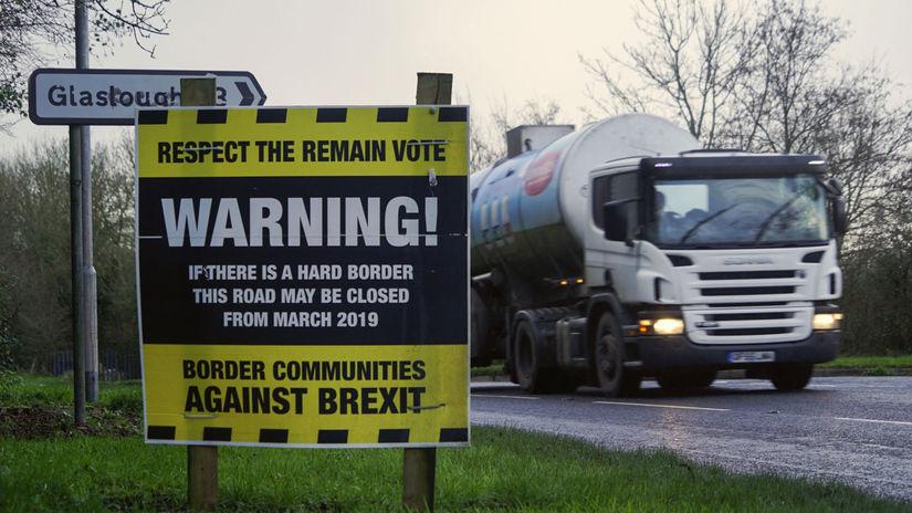 Brexit, hranice, Írsko, Severné Írsko, dopravná...