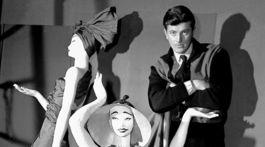 Francúzsky dizajnér Hubert de Givenchy
