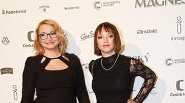 Herečka Anka Šišková (vľavo) a jej dcéra Tereza Nvotová.