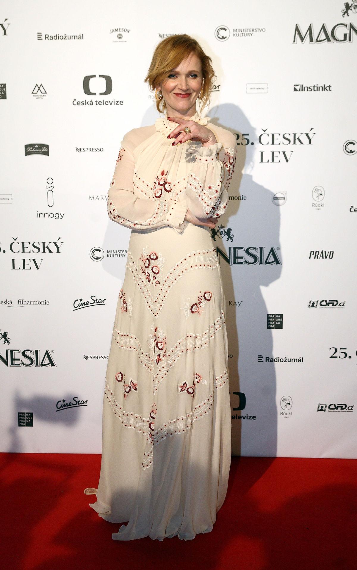 Herečka Anna Geislerová.