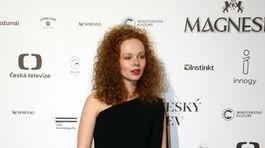 Herečka Anna Linhartová.