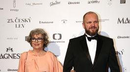 Herečka Božidara Turzonovová s režisérom Davidom Ondříčkom.
