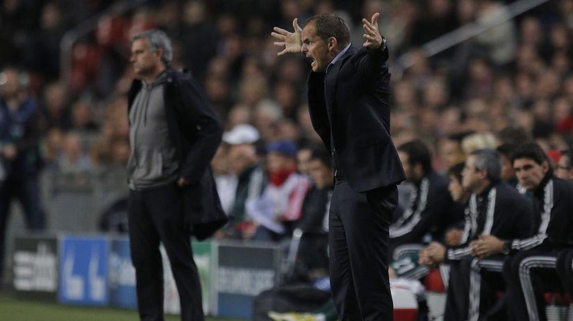 José Mourinho, Frank de Boer