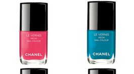 Laky na nechty Le Vernis Chanel v limitovanej neónovej edícii.