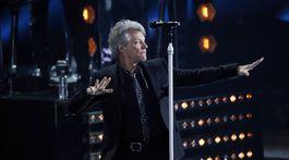Počas vyhlásenia cien iHeartRadio Music Awards vystúpila aj formácia Bon Jovi.