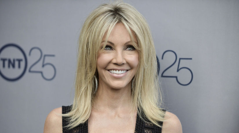 Herečka Heather Locklear na archívnom zábere.