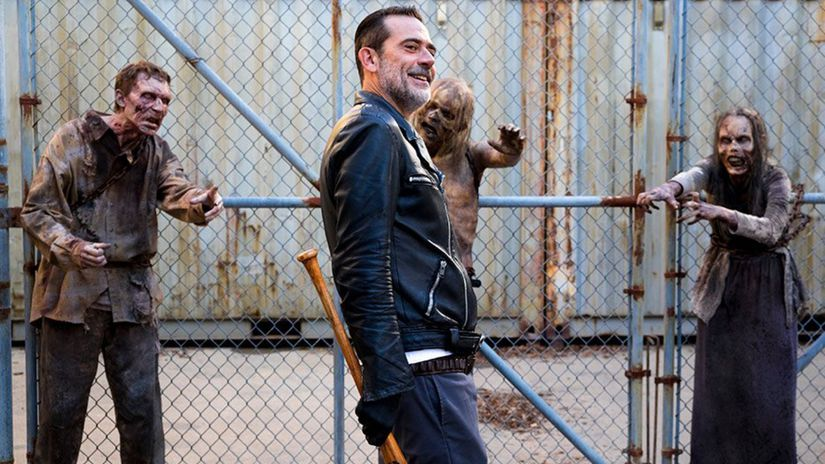 the walking dead, negan, walking dead, živí mŕtvi,