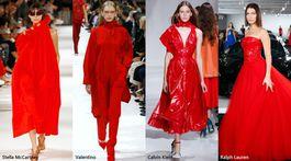 Trendy sezóny Jar/Leto 2018 - Červená úraduje (Stella McCartney, Valentino, Calvin Klein a Ralph Lauren)