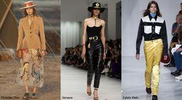 Trendy sezóny Jar/Leto 2018 - Kovbojka (Christian Dior, Versace, Calvin Klein)