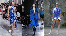 Trendy sezóny Jar/Leto 2018 - modrá lagúna (Michael Kors, Givenchy, Chanel)
