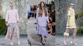 Trendy sezóny Jar/Leto 2018 - Pastelové tóny (Chanel a Michael Kors)