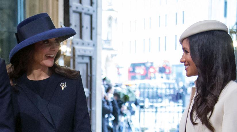 Vojvodkyňa Kate a  Meghan Markle