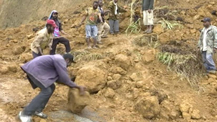 Papua zemetrasenie obete nárast dotras silný