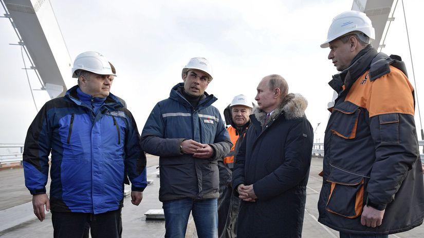 Rusko, Putin, most, Krym, najdlhší