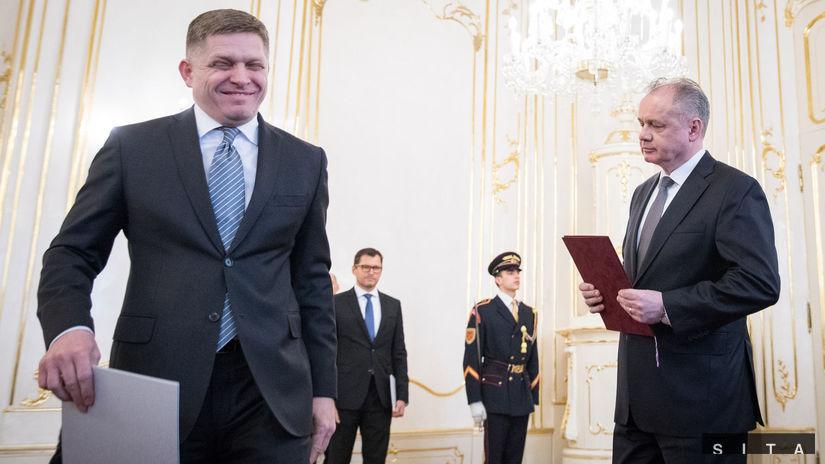 PREZIDENT: Prijatie demisie vlády SR