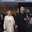 Speváčka Jennifer Lopez a jej partner Alex Rodriguez.