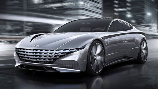 Hyundai Le Fil Rouge: Koncept skoncoval so svetlami. Bude to druhý 'Stinger'?