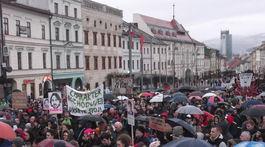 SR Banská Bystrica zhromaždenie Za slušné Slovensko BB